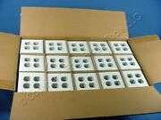 600 Ge White Unbreakable 2g Outlet Cover Duplex Receptacle Wallplates Wd8105505