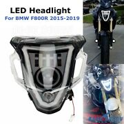 Led High Low Beam Headlight Front Daytime Running Light For 2015-2019 Bmw F800r