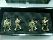 Wow Extremely Rare King And Country D Day Dd002 3 2nd Rangers+1 29th Corporal-bnib