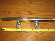 Vintage Nautical Boat Stainless Deck Hardware Sailboat Cleat Chock Tie Down