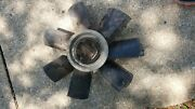 1969 Corvette 7 Blade Fan And Clutch 3955182 Survivor Dated A69 427 350 With Ac