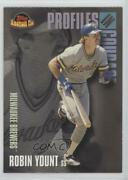 2001 Topps American Pie Profiles In Courage Robin Yount Pic14 Hof
