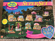 Polly Pocket Pollyville 1995 Superset Sealed Nrfb Extremely Rare Mint