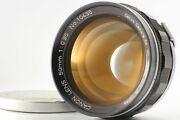 [exc+5] Canon 7 Rangefinder + 50mm F/0.95 Dream Lens From Japan
