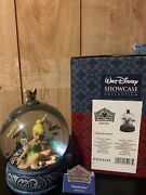 """Walt Disney Showcase Collection Jim Shore Tinkerbell """"butterfly Kisses"""""""