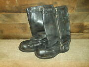 Ww Ii German Aviation - Pilot Flight Boots - All Leather Variant - Published