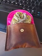 Jay Strongwater Mirror Compact Decorated With A Rhinestone Lizard/salamander