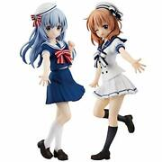 Is The Order A Rabbit Special Figure Chino And Cocoa -sailor Ver. All 2 Ty...