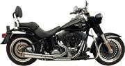 Supertrapp - 82874680 - Fat Shot 2-into-1 Exhaust System Chrome Harley-davidson