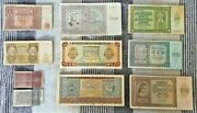 Lot Of 111 Pcs Ndh Kuna Paper Money-great Ww2 Original Banknote Collection-rare