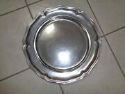 Wilton Armetale Queen Anne Platter Tray Charger 14 102124