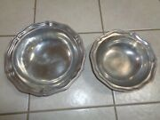 Wilton Armetale Rwp Pewter Serving Bowls Lot Of 2 Queen Anne 9 And 10