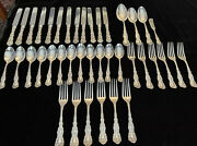 Luxembourg By Gorham Sterling Silver Flatware Set For 12 Service 40 Pieces