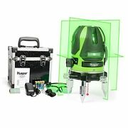 Green Beam Multi - Line Laser Level -four Vertical And One Horizontal Lines