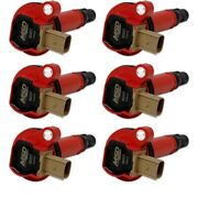Msd Coil, Red, Ford Eco-boost 3.5l V6, 6-pk