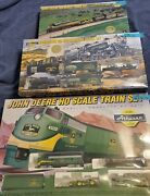 3 Sets Athearn John Deere Ho Train Tractors 1st 4th 5th In Series Sealed
