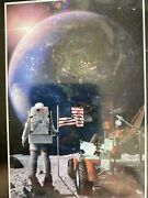 A2play Astronaut 1000 Piece Planet In Space Jigsaw Puzzle Space Puzzle Poster