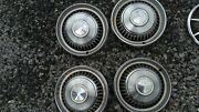 1968 Chevrolet Impala Hubcaps Set Of 4 Size 14 Inch