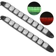 Pair Of Led Light Bar Dc12v 4 5w Ip66 Signal Bow Strip For Boat Yachts