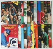 Lot Of 22 Sports Illustrated Magazines 1972