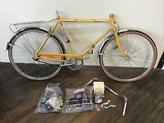 Nos Vintage Huffy Open Road Menandrsquos 2676t 3 Speed Bicycle 26andrdquo Tires W/ Box Yellow