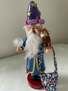 Steinbach Collection - Merlin The Magician Smoker - Limited Edition-retired 1993