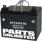 Parts Unlimited Factory-activated Agm Maintenance-free Batteries U1-32