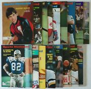 Lot Of 17 Sports Illustrated Magazines 1973