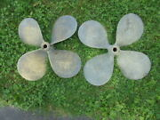 Work Horse Ni-bral 22x23 4 Blade Propeller Right Hand And Left Hand 1 3/8 Shaft