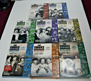 The Three Stooges Complete Collection Dvd Volume 1-8 Dvd 1934-57 In Shrink Wrap