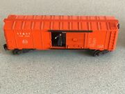 Lionel Post War 3484 Atandsf And Pennsylvania Operating Man Car. Please See Pict