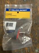 Yellow Jacket Brute Ii Manifold Replacement Red Handle W/screw 41094