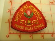 1992 Moses Scout Reservation Collectible Camp Patch G26