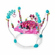 Disney Baby Minnie Mouse Peekaboo Activity Jumper With Lights And Melodies Ag...