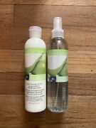 Vintage Avon Naturals Sparkling Pear And Acai Body Spray And Body Lotion 8.4oz Nos