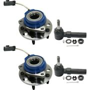 Wheel Hub Kit For 2002-2013 Chevrolet Impala Front Left And Right 4pc