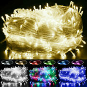 Waterproof 100-1000 Led Christmas Fairy String Lights Wedding Party Outdoor Xmas