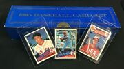 1985 Topps Baseball Cards Comp Set W/ Mcgwire, Clemens And Puckett Rookie
