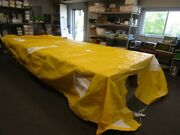 Tahoe 202 Outboard Single Console Boat Cover 67117-28 2004 Yellow Marine Boat