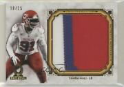 2013 Topps Museum Collection Pro Bowl Relic Gold /25 Tamba Hali Jumbo Patch