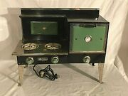 Very Large Very Heavy 1930s Empire Electric Oven Toy Stove Salesman's Sample