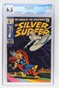 Silver Surfer 4 - Marvel 1969 Cgc 6.5 Thor And Loki Appearance