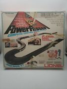Vintage Lionel Power Passers Ring Of Fire Slot Car Set Racing Track Untested