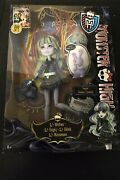 Monster High 13 Wishes Twyla Doll Diary And Pet Dustin New Sealed Free Shipping