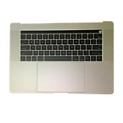 New Macbook Pro A1707 2016-2017 15 Silver Touch Bar Top Case Keyboard Battery