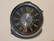 Vintage Jaeger Watch Co New York Car Clock Untested For Parts Or Repair Rare