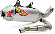 Pro Circuit T-6 Stainless Steel Exhaust System Motorcycle Dirt Bike