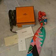 Hermes Chou Multi Colored Hair Accessories From Japan No.5360