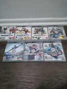 Lot Of 7 Play Station Ps3 Madden Nfl Football Games 10, 11, 12, 13, 16, 17, 25