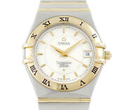 Omega Battery Replaced Constellation 1252.30 Perpetual Calendar Date No.501